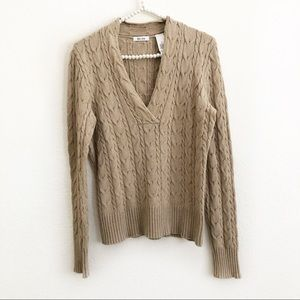 4/$25 Liz & Co. V-Neck Long Sleeve Sweater